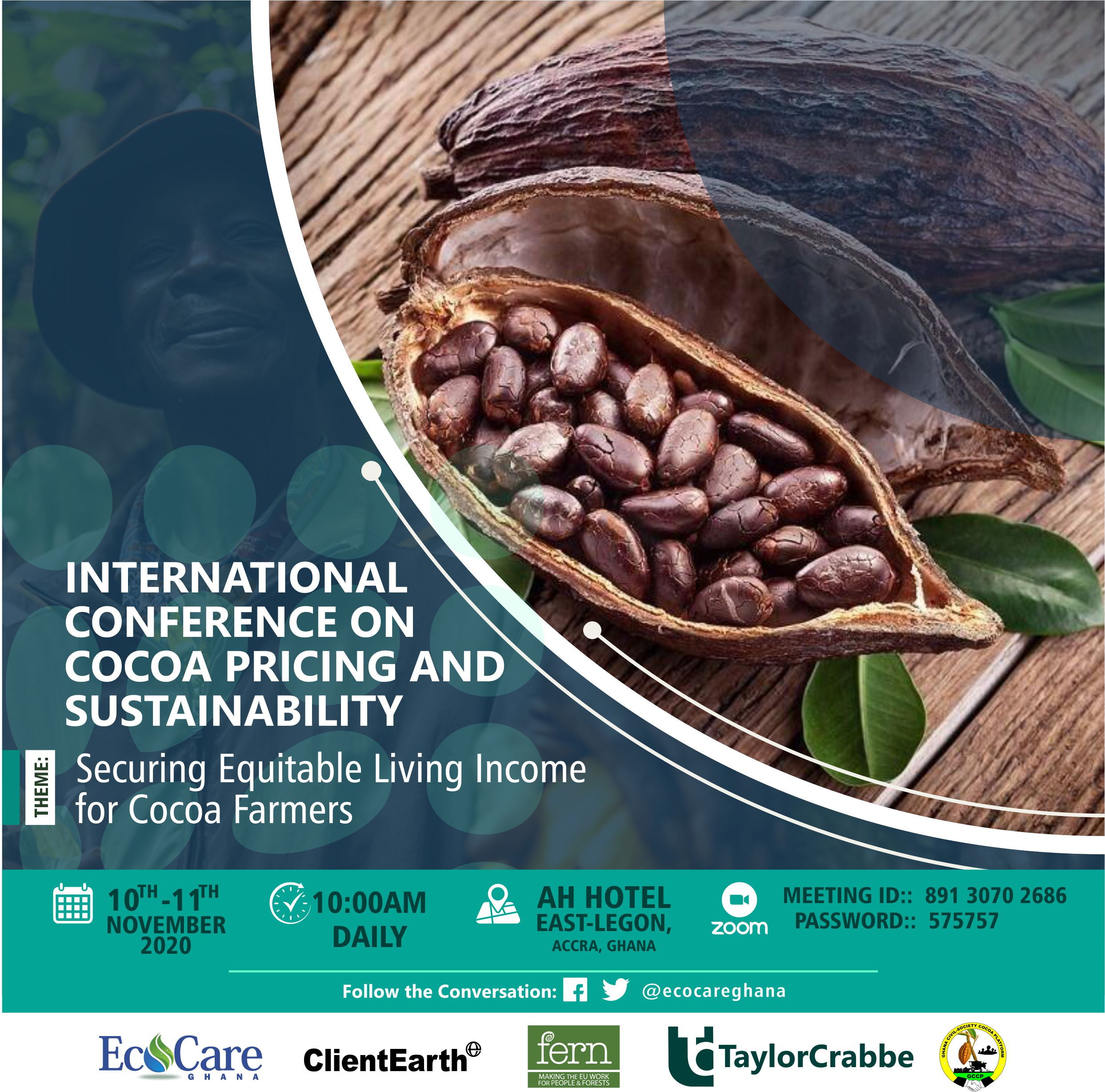 Cocoa industry stakeholders meet to device strategies to secure equitable living income for cocoa farmers