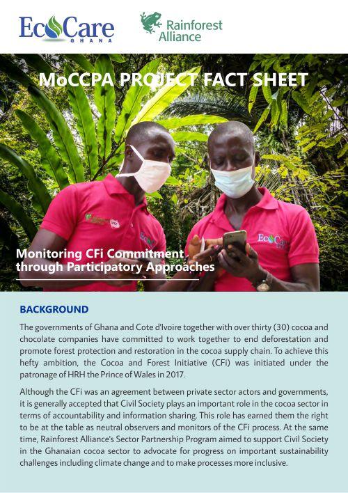 MoCCPA Facts Sheets