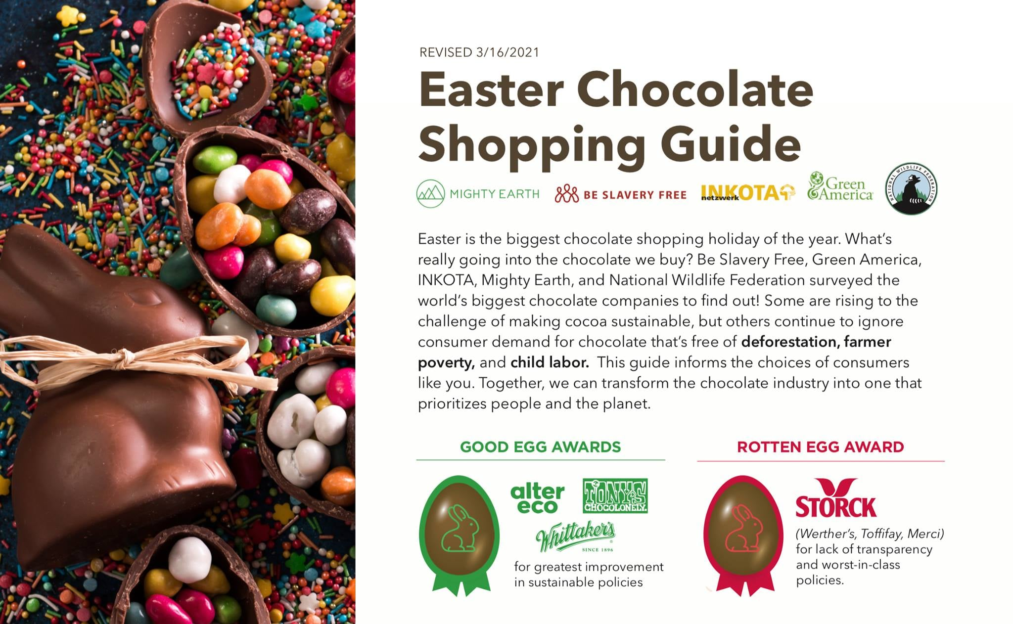 Easter Chocolate Scorecard Launched in Ghana