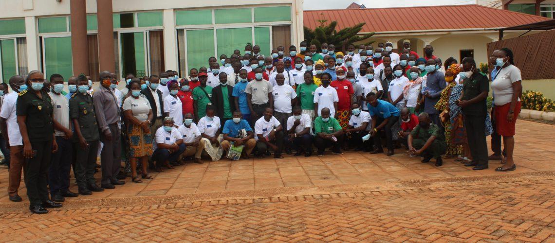 Participants at the launch