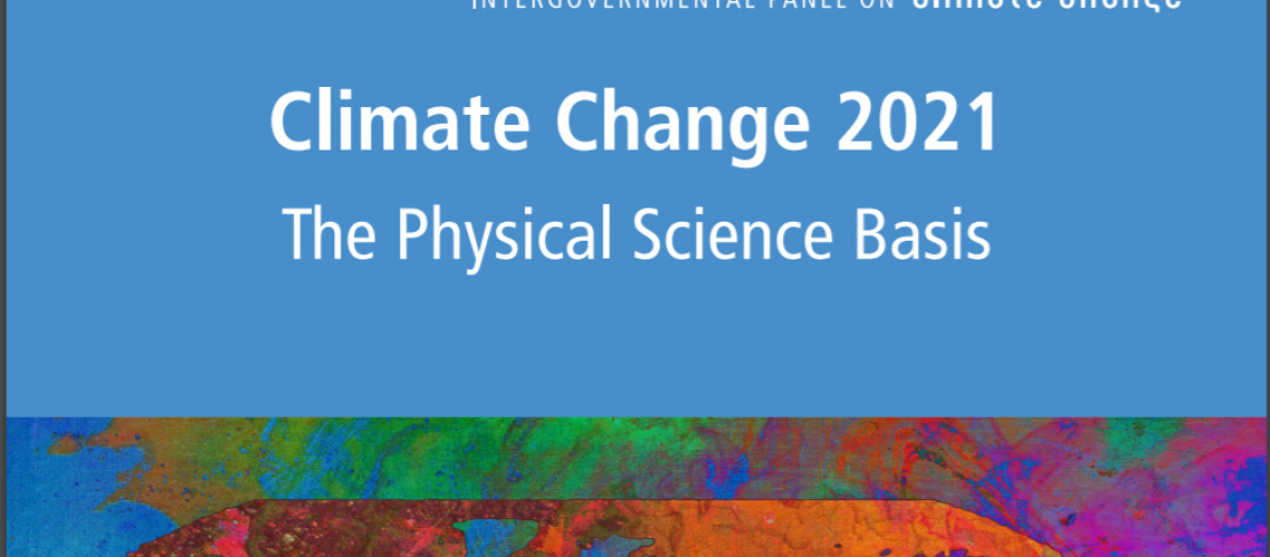 Climate Change Report 21 (Cover page)